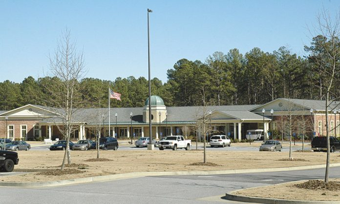 Outside view of Fayette Senior Services in Fayetteville. File photo.