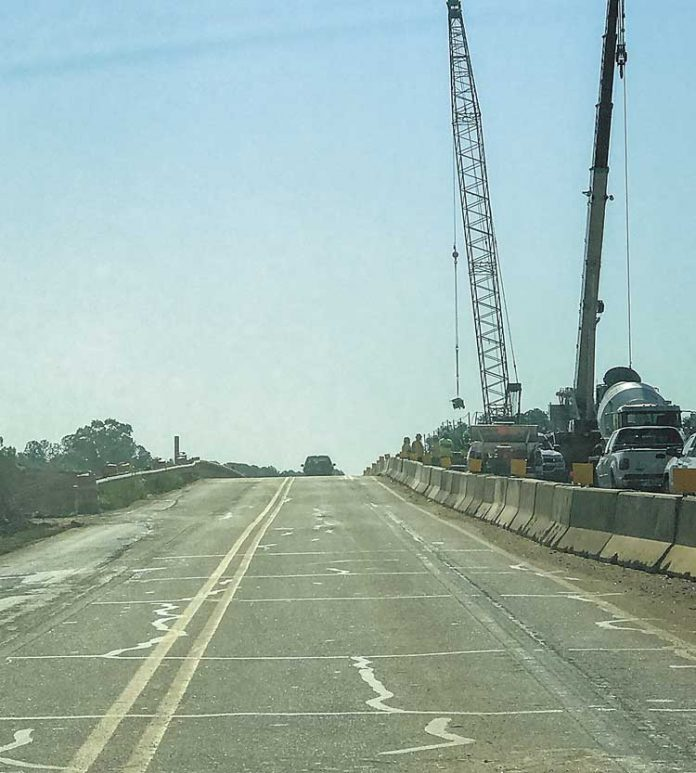 Construction on Interstate 85. File photo.