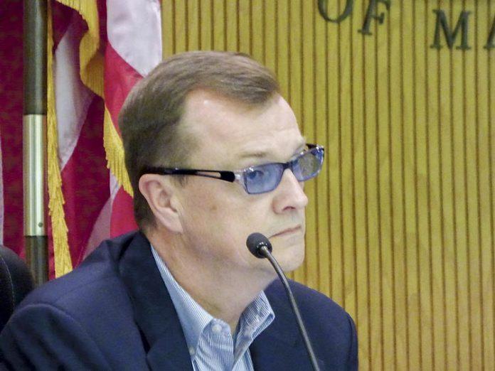 Fayette County Commissioner Steve Brown. Photo/Ben Nelms.