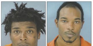 Parnell Albert (L) and Jaquarius Rogers. Photos/Fayette County Jail.