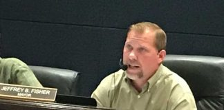 Senoia Mayor Jeff Fisher. Photo/John Thompson.