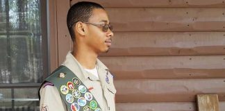 Jared Daigre, 17, of Fayetteville is an Eagle Scout with a college degree. Photo/Submitted.