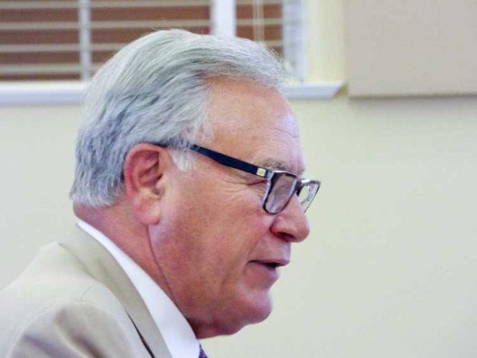 Rezoning attorney Doug Dillard. Photo/Ben Nelms.
