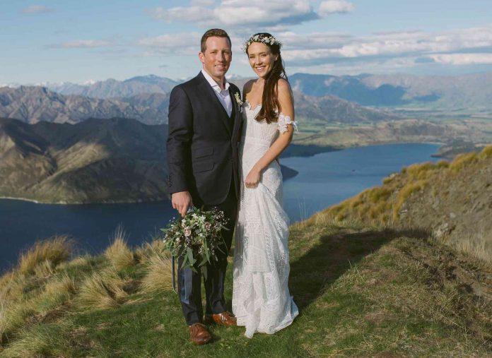 Pope-Gillan wedding