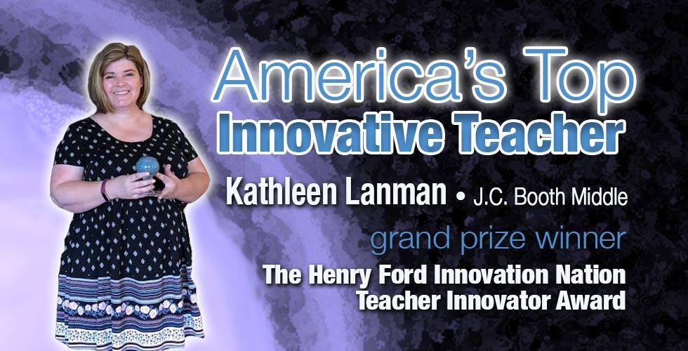 Image result for america's top innovator teacher kathleen lanman