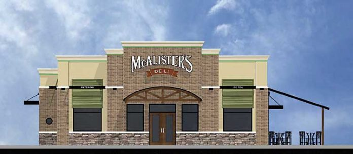 Rendering of proposed restaurant. Graphic/PTC Planning Commission.