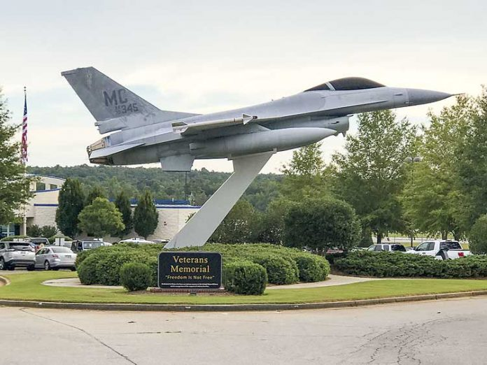 Entrance to Falcon Field in Peachtree City. File photo.