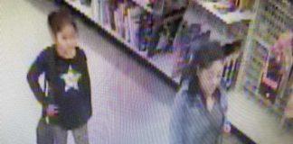 Maria A. Sedano-Leyva, 38, of Peachtree City, shown in surveillance photo provided by Peachtree City Police.