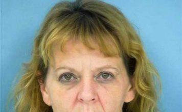 Tina M. Padgett.Photo/Fayette County Jail.