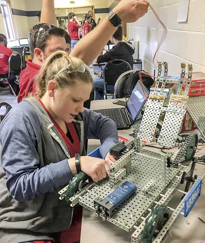 Inventing The Future Big Bots And Big Wins For Whitewater High