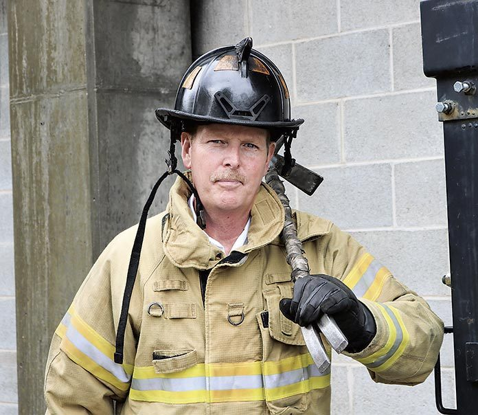 Battalion Chief Ron Mundy. Photo/Peachtree City.