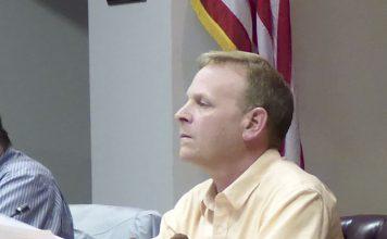 Tyrone Mayor Eric Dial. File photo.
