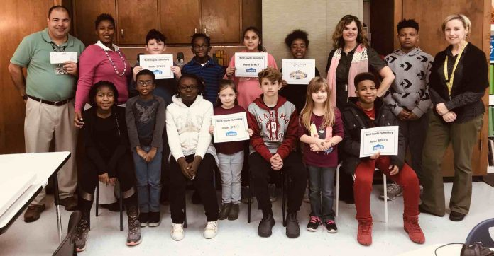 North Fayette Elementary staff and students.Photo/Fayette County School System.
