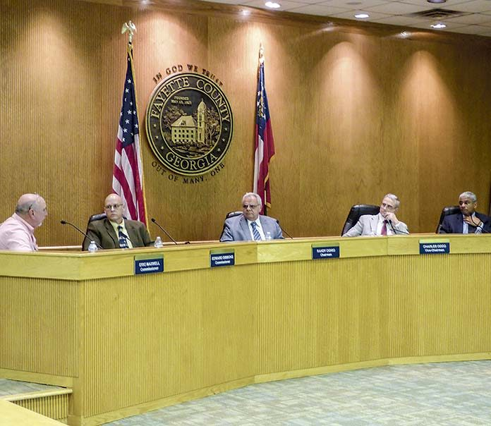 Your time is now up, says Fayette County Commission - The