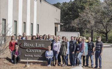 The Real Life Center team has moved into its new home at 975 Highway 74 North in Tyrone, on the property of Dogwood Church. Photo/Submitted.