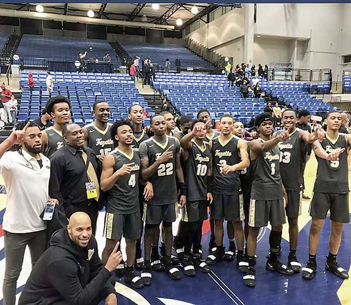 Fayette County High School Tigers play for state basketball