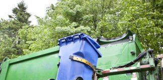 Curbside garbage pickup. Photo/Shutterstock.