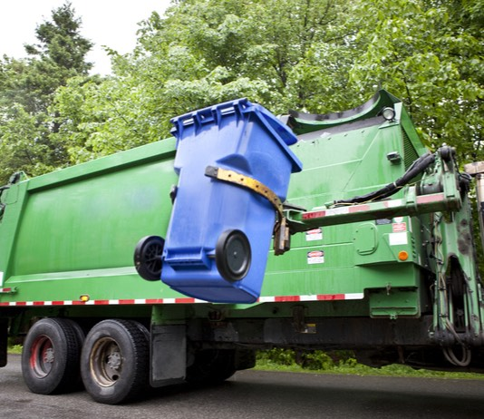 Curbside garbage pickup. Photo/Shutterstock.