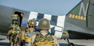 Liberty jump team will perform aerial demonstration with the D-Day Squadron at World War II Heritage Days this weekend.