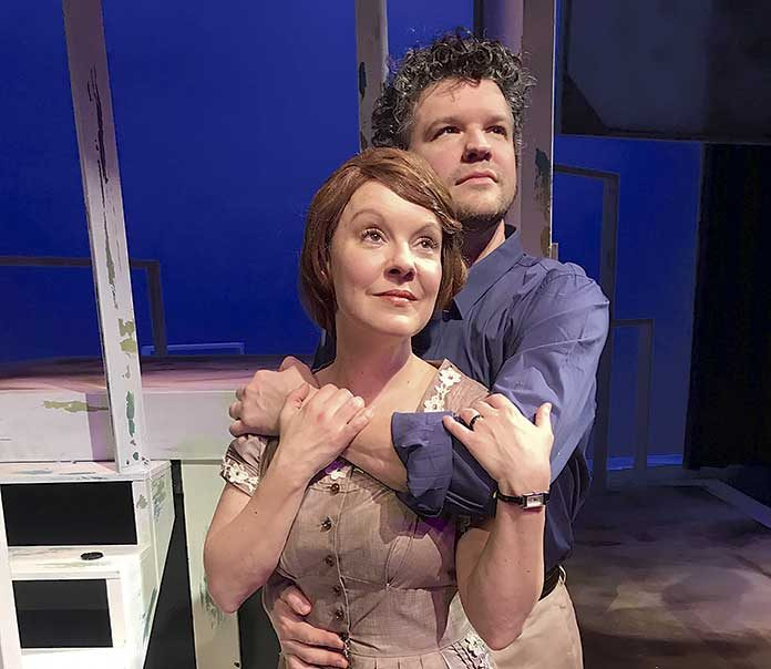 Broadway's Leah Jennings and Stephen Mitchell Brown star in The Bridges of Madison County opening Friday at The Legacy Theatre.