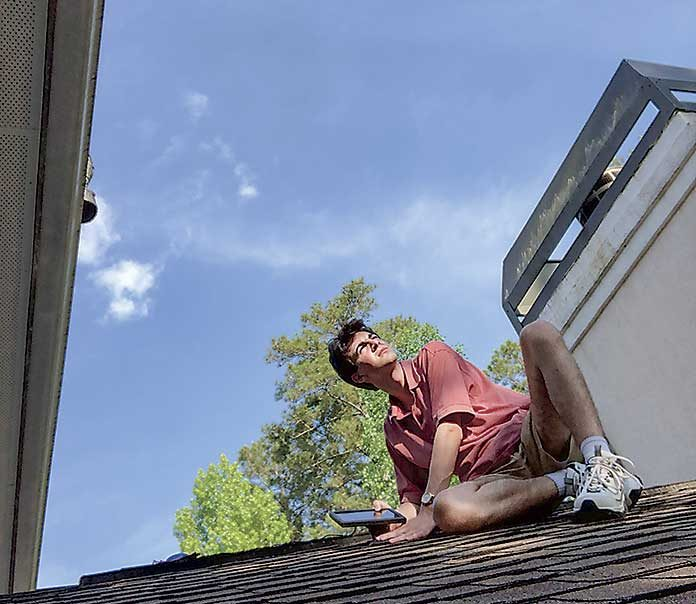 McIntosh High School senior Ted Lord will make a solar presentation before the Fayette County Board of Education on May 20. The aim is to eventually transform the school to sustainable solar energy. Photo/Submitted.
