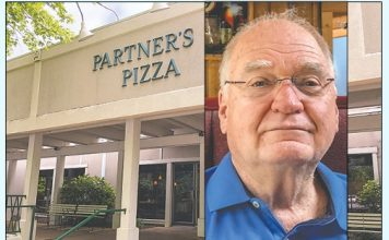 Partners II Pizza owner Jim Royal. Photo/Cal Beverly.