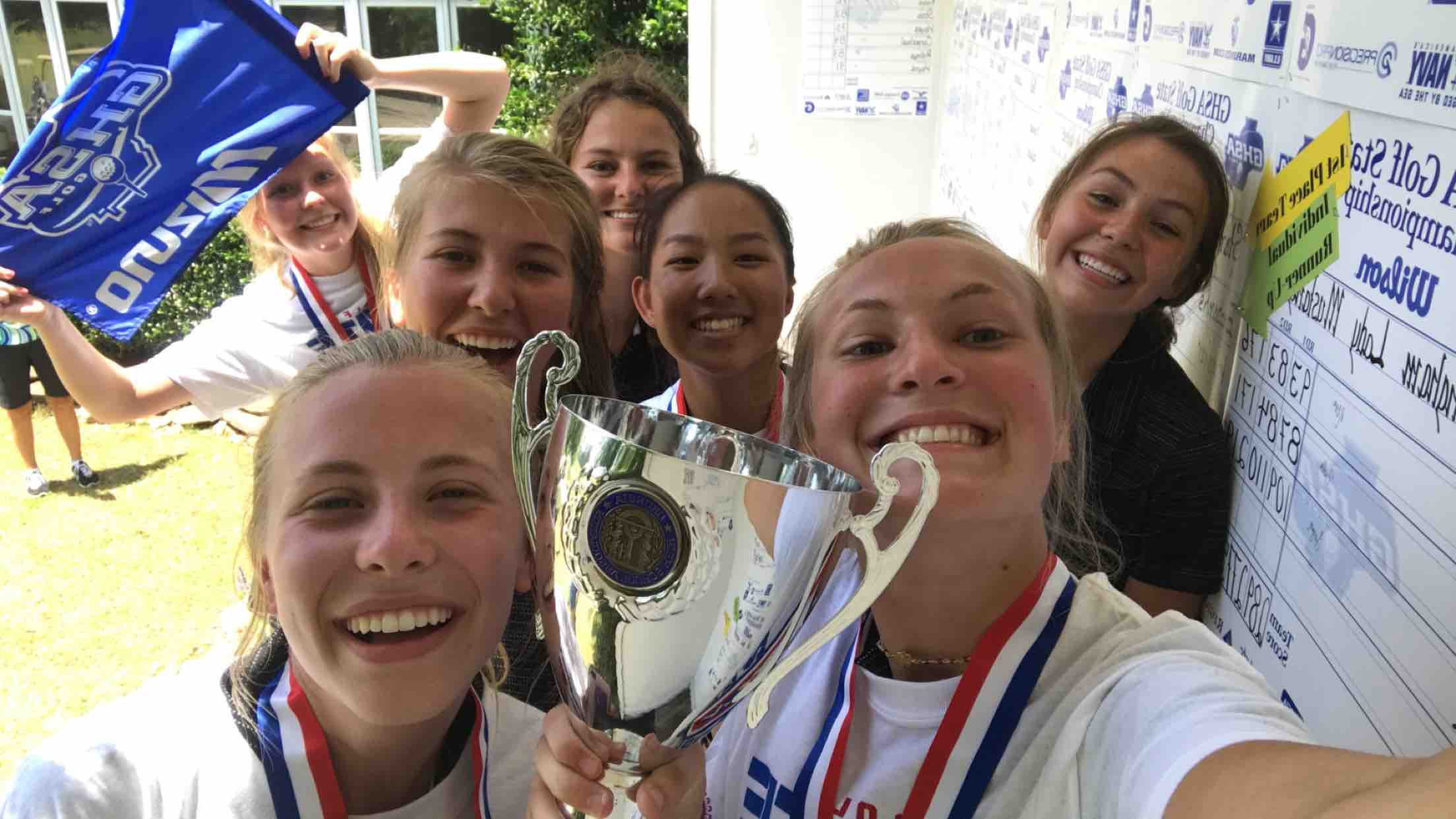 Starr's Mill Girls Golf Wins Third Consecutive State