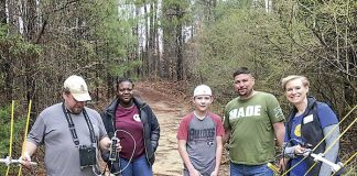 Members of the Fayette County Amateur Radio Club prepare for Field Day. Photo/Joe Domaleski (KI4ASK).