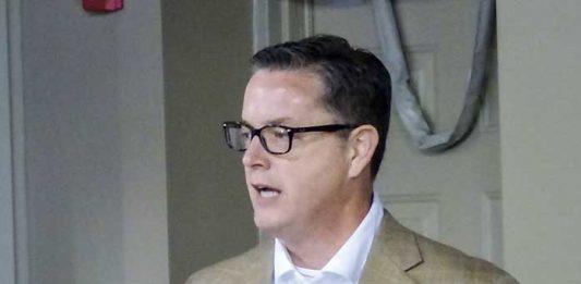 Fayette County Chamber of Commerce President Colin Martin. Photo/Ben Nelms.