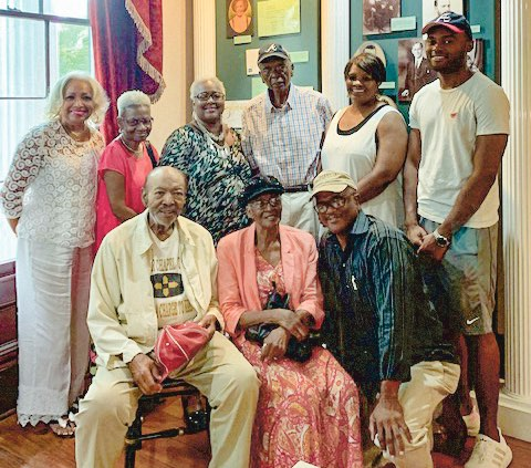 Pictured, front row, from left, are Tea Dorsey, Rosetta Dorsey, and Thomas Dorsey. On the back row, from left, are Phenola Culbreth, Anette Wise, Carol Dorsey, Paul Dorsey Jr., Lajune Dorsey, and Marcus Dorsey. Photo/Submitted.