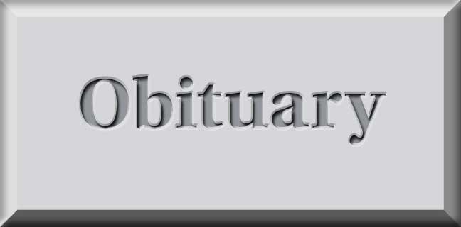 obituary header gray