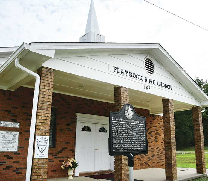 Flat Rock AME Church is located at 148 Old Chapel Lane, Fayetteville. Photo / Marie Thomas.