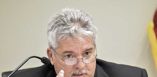 Jon Rorie, city manager of Peachtree City. File photo.