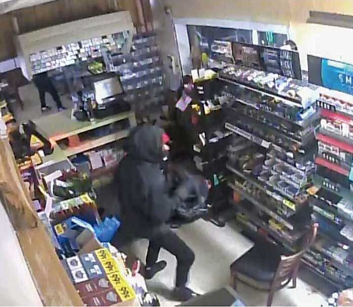 Fayette County deputies want to find the four men who burglarized a business on Ga. Highway 92 South on July 28. Photo/Fayette County Sheriff's Office.
