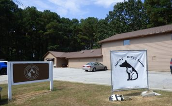 Fayette County Animal Shelter on Ga. Highway 74 South in Peachtree City. Photo/Ben Nelms.