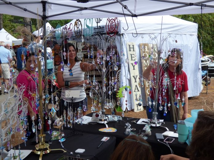 There was something for everyone at the Shakerag Arts and Crafts Festival held Sept. 21-22 at the McIntosh Recreation Complex in Peachtree City. Photo/Ben Nelms.