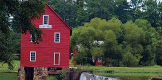 Plan cover shows Fayette's much-photographed Starr's Mill off Ga. Highway 85 South. Photo/Submitted.