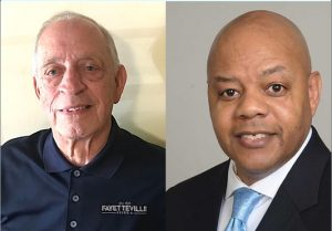 Post 1 candidates Harlan Shirley (L) and Darryl Langford. Photos/Submitted.