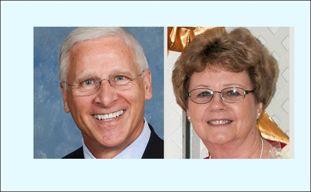 Tyrone Council Post 1 candidates (L-R) David Barlow and Linda Howard. Photos/Submitted.