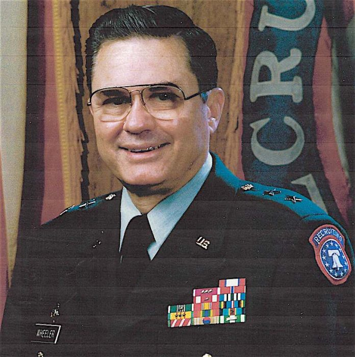 U.S. Army Major General Jack Wheeler. Photo/Submitted.