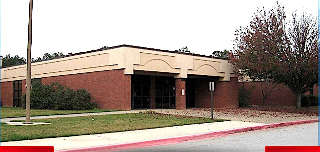 Flat Rock Middle School at 325 Jenkins Rd. in Tyrone.