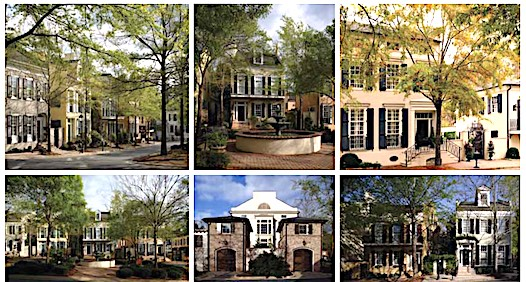 </b>Townhouses will look like these. Photo/Peachtree City.</b>
