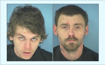 Allen Barnes (L) and Steven White. Photos/Fayette County Jail.