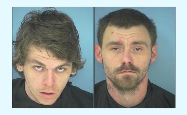 Allen Barnes (L) and Steven White. Photos/Fayette County Jail.