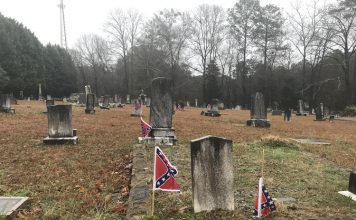 The Hopewell Cemetery in Tyrone. Photo/Ben Nelms.