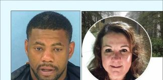 Murderer and victim: Shanard Rease (L) and Mimi Perry.