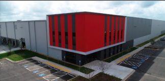 Exterior of new Amazon fulfillment center in Newnan.