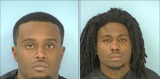 Juan Carr (L) and Malik Amos. Photos/ Fayette County Jail.