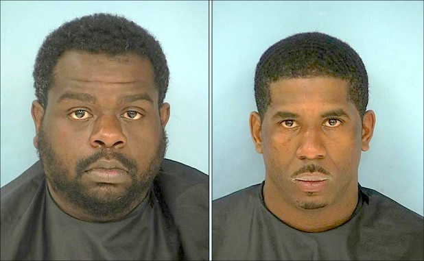 Darvis Whitfield (L) and Deontreal Dowell. Photos/Fayette County Jail.