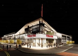 Spotlight Theatres luxury cinema is expected to open at Pinewood Forest in early 2021. Rendering/Submitted.
